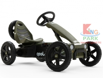 веломобиль Jeep Adventure pedal go-kart