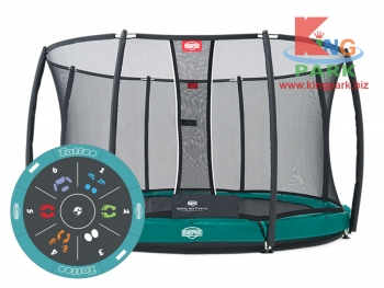 BERG Elite+ InGround Green 430 Tattoo + Safety Net T-series 430