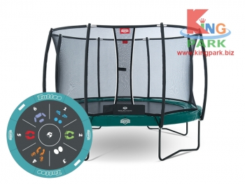 BERG Elite+ Regular Green 430 Tattoo + Safety Net T-series 430