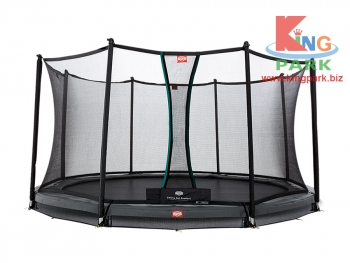 BERG InGround Champion Grey + Safety Net Comfort